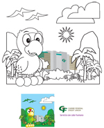 Savings Account Cari Kid Coloring sheets 2