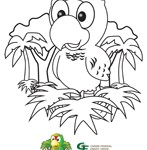 Savings Account Cari Kid Coloring sheets 3